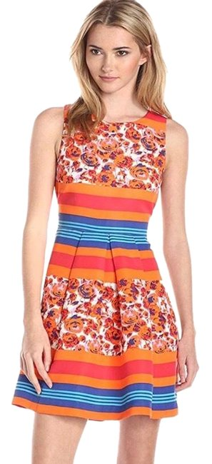Preload https://img-static.tradesy.com/item/25404451/plenty-by-tracy-reese-multicolor-sasha-floral-striped-tank-fit-and-flare-cocktail-dress-size-petite-0-1-650-650.jpg