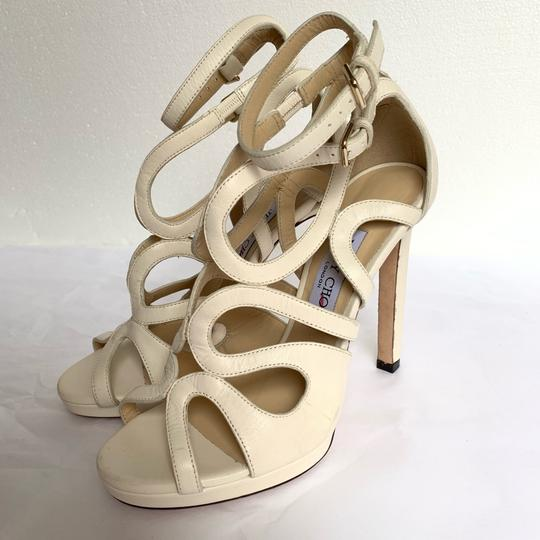 Jimmy Choo Chalk White Sandals Image 3