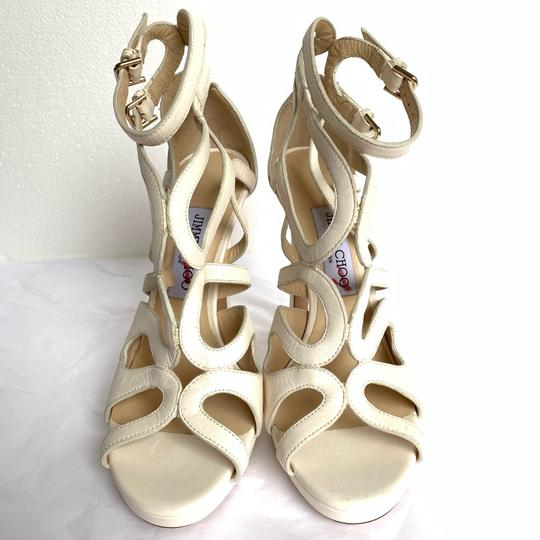 Jimmy Choo Chalk White Sandals Image 5