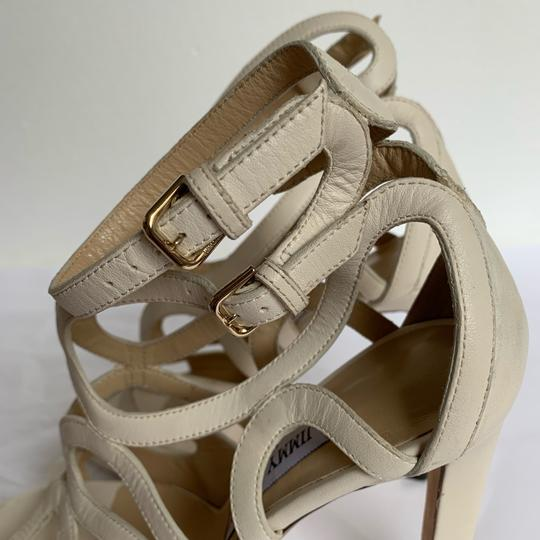 Jimmy Choo Chalk White Sandals Image 6