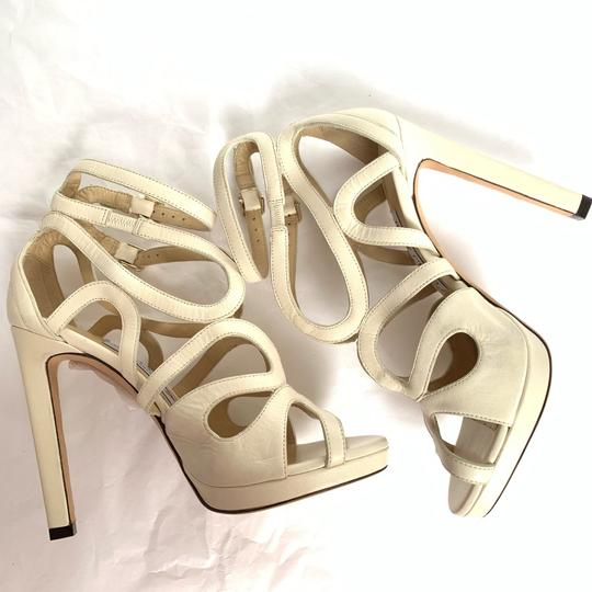 Jimmy Choo Chalk White Sandals Image 7