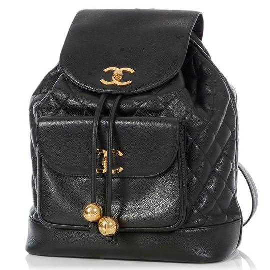 Preload https://img-static.tradesy.com/item/25404519/chanel-quilted-vintage-90s-black-caviar-leather-backpack-0-3-540-540.jpg