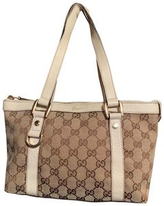 Gucci Tote in Beige Tan