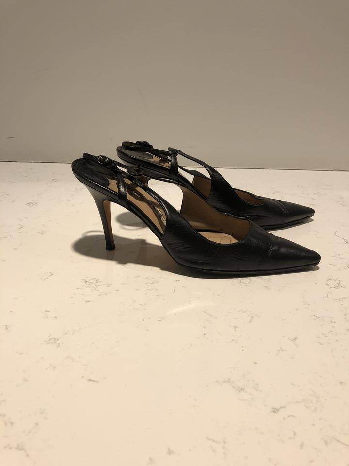 ab6ddfc099ad9 Manolo Blahnik Black Pumps Size EU 39 (Approx. US 9) Wide (C, D ...