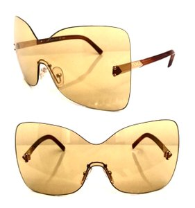 Fendi Over sized Rimless Shield