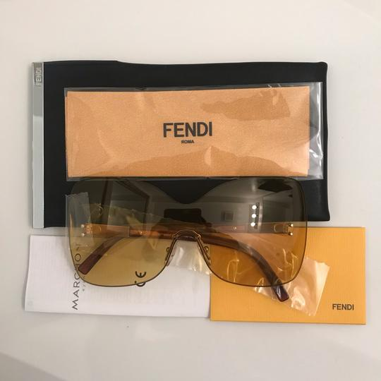 Fendi Over sized Rimless Shield Image 11