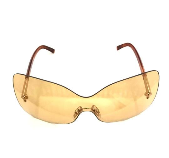 Fendi Over sized Rimless Shield Image 2