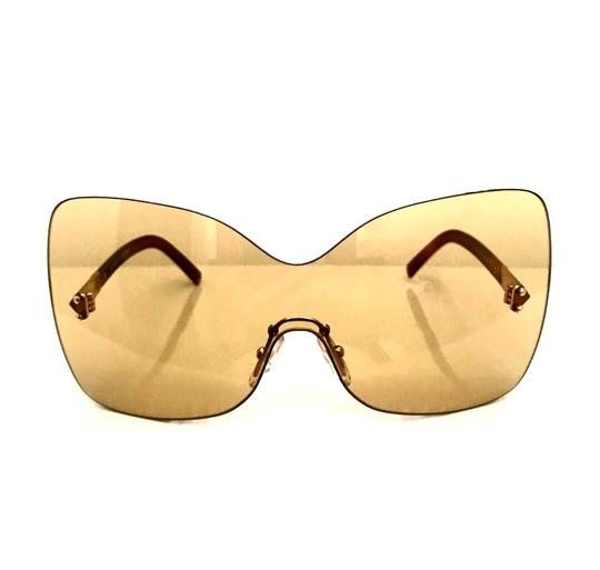 Fendi Over sized Rimless Shield Image 3