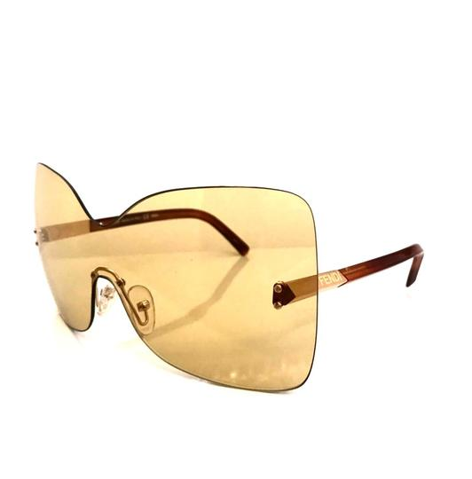 Fendi Over sized Rimless Shield Image 4