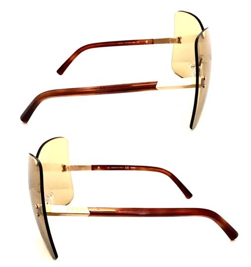 Fendi Over sized Rimless Shield Image 7