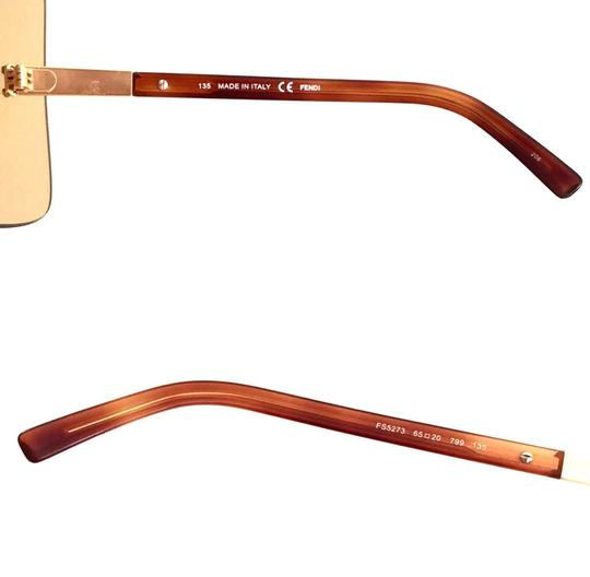 Fendi Over sized Rimless Shield Image 9
