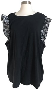 Who What Wear x Target Top Black