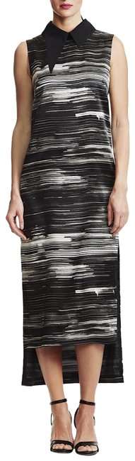 Preload https://img-static.tradesy.com/item/25404939/black-and-white-striped-long-formal-dress-size-4-s-0-1-650-650.jpg