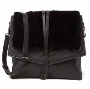 Kooba Shearling Yukon Cross Body Bag