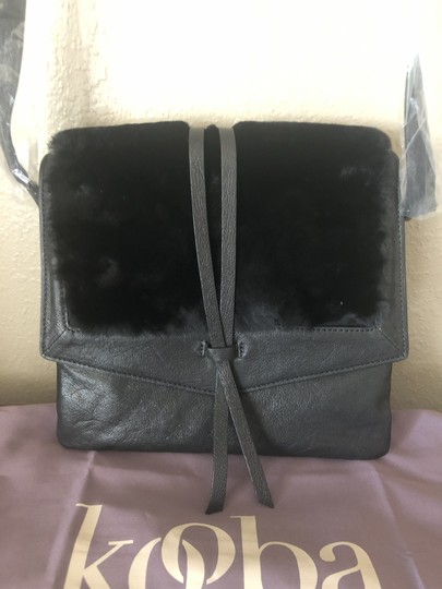 Kooba Shearling Yukon Cross Body Bag Image 3