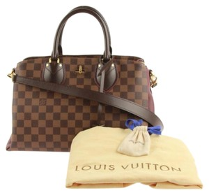 Louis Vuitton Satchel in brown/ maroon