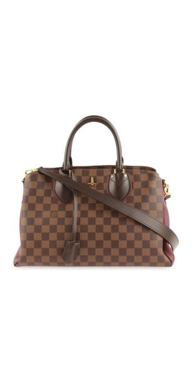 Louis Vuitton Satchel in brown/ maroon Image 1