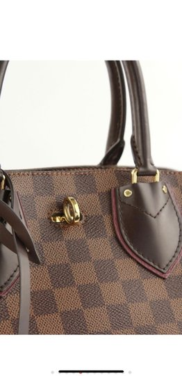 Louis Vuitton Satchel in brown/ maroon Image 5
