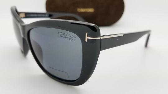 Tom Ford Tom Ford Lindsay sunglasses TF0434 01D CatEye Sunglasses Image 1