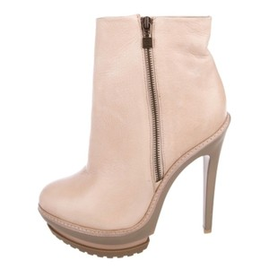 Hervé Leger Cream Boots