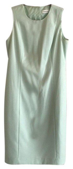 Preload https://img-static.tradesy.com/item/25405139/calvin-klein-mint-green-midi-mid-length-workoffice-dress-size-6-s-0-1-650-650.jpg