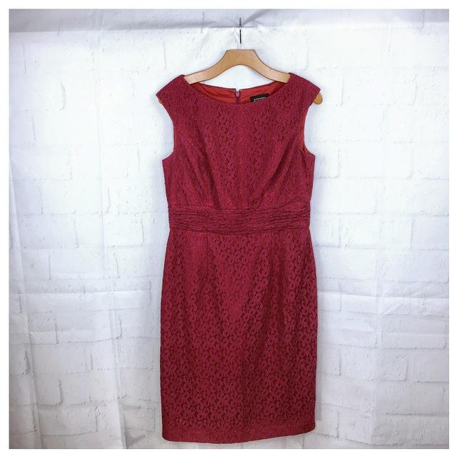 Preload https://img-static.tradesy.com/item/25405151/adrianna-papell-red-pink-eyelet-pencil-short-workoffice-dress-size-10-m-0-0-650-650.jpg