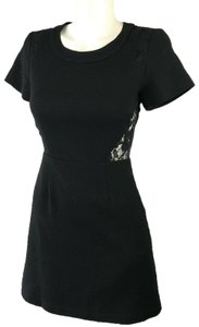 Sea short dress Black New York Lace Cut Out on Tradesy