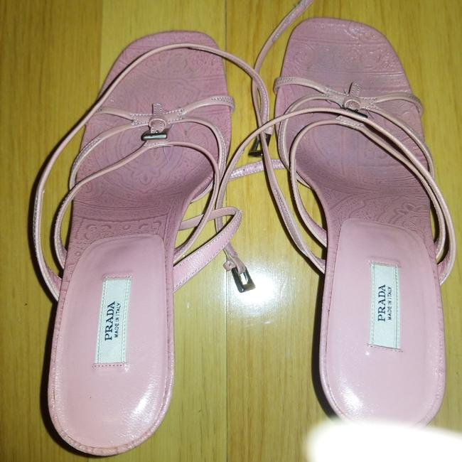 Item - Pink Stilettos Formal Shoes Size EU 35 (Approx. US 5) Regular (M, B)