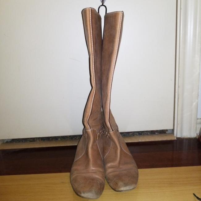 Item - Brown Leather Boots/Booties Size EU 38 (Approx. US 8) Regular (M, B)