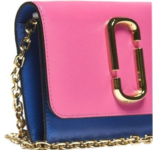Marc Jacobs Snapshot Chain Wallet Leather Cross Body Bag