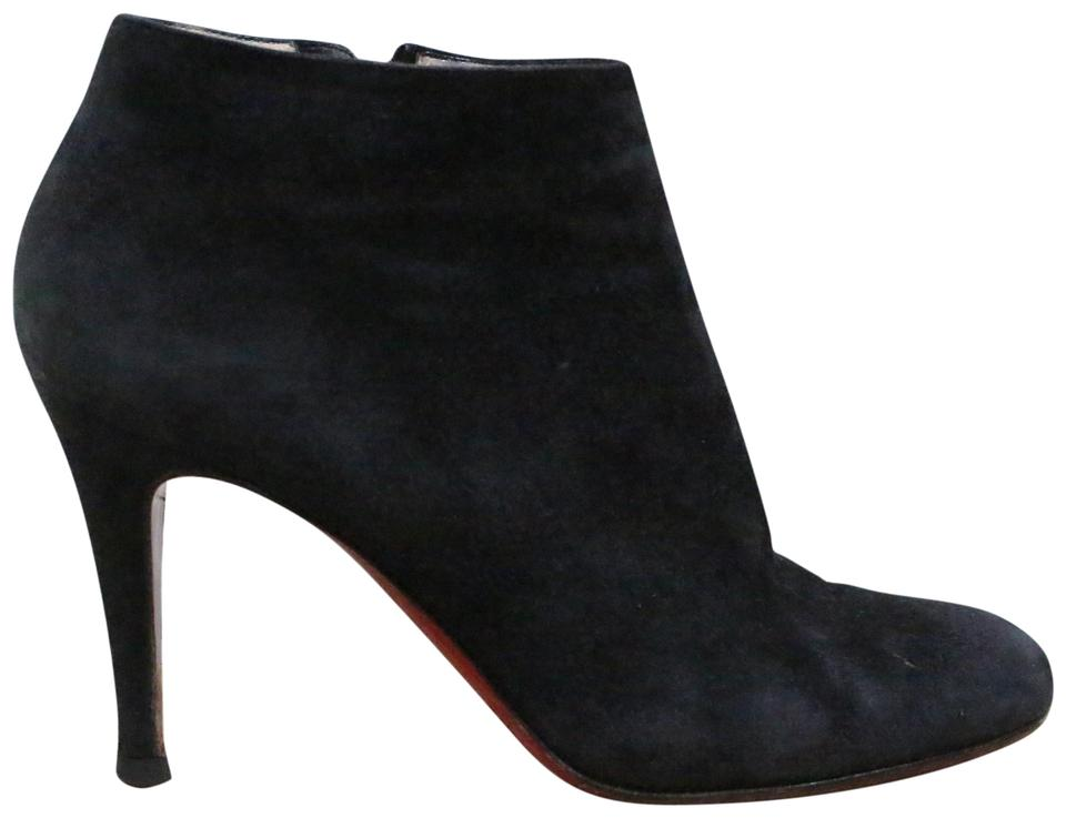 new style 6d79c 2b586 Christian Louboutin Black Belle Suede Boots/Booties Size EU 35 (Approx. US  5) Regular (M, B) 56% off retail