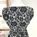 Dolce&Gabbana Cotton Floral Lace Sleeveless Fitted Bodice Dress Image 10