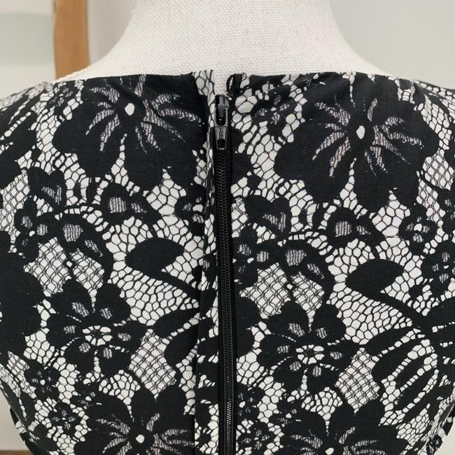 Dolce&Gabbana Cotton Floral Lace Sleeveless Fitted Bodice Dress Image 9