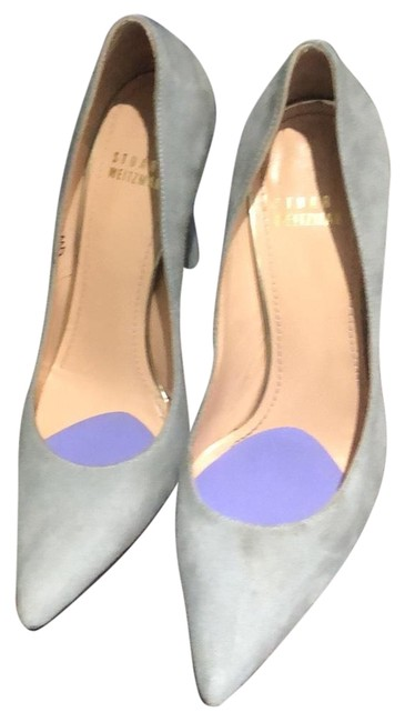 Item - Gray Heel Pumps Size US 6 Regular (M, B)