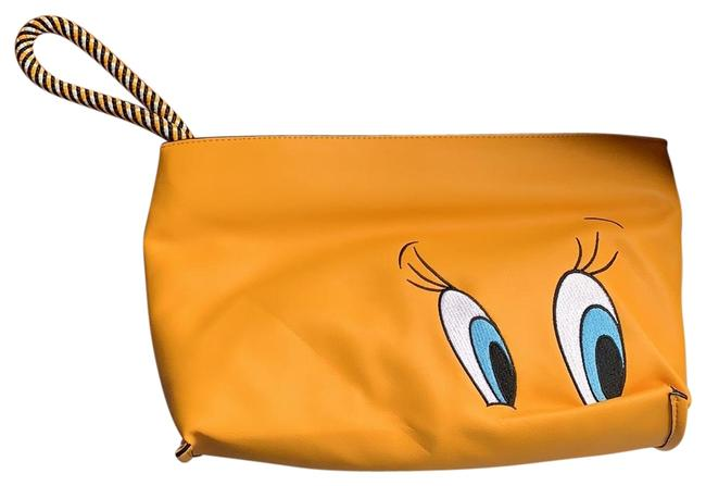 Item - Tweety Bird Looney Tunes Yellow Faux Leather Clutch