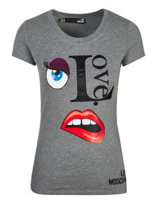 cfd71613 Moschino Tee Shirts - Up to 70% off a Tradesy