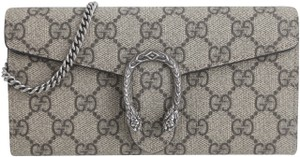 Gucci Gucci Natural Dionysus Gg Supreme Chain Wallet