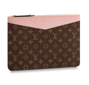 Louis Vuitton Night Out Makeup Cosmetics Monogram Summer rose poudre Clutch