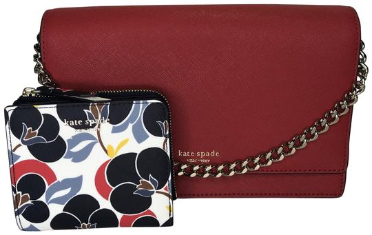 Preload https://img-static.tradesy.com/item/25406977/kate-spade-new-york-cameron-convertible-crossbody-wkru5843-with-wallet-hot-chilibreezy-floral-leathe-0-1-540-540.jpg