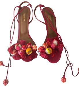 Aquazzura pink Sandals