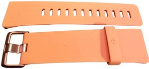 fitbit Fitbit Versa Peach Soft Silicone Replacement Watch band