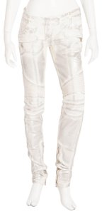 Balmain Rare Collectible Skinny Jeans-Coated