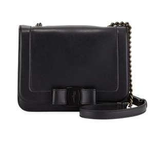 Salvatore Ferragamo Vara Vara Bow Leather Shoulder Bag