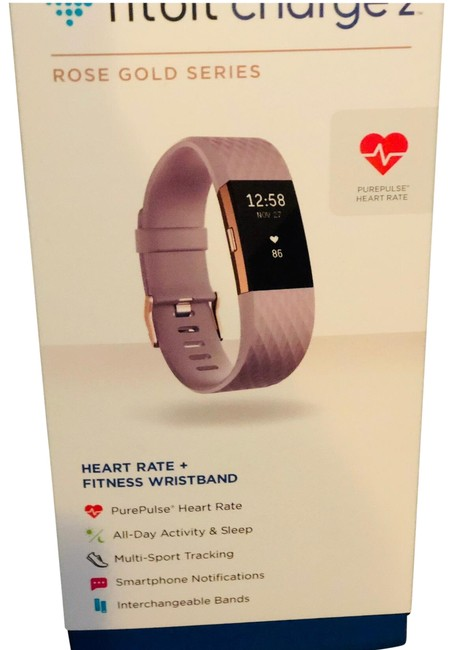 Item - Rose Gold Purple Tones Gold Charge 2 Watch