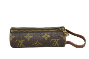 Louis Vuitton MONOGRAM CANVAS ETUI 3 BALL DE GOLF Ball Case M58249