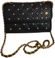Tory Burch Studded Quilted Classic Elegant Shoulder Bag