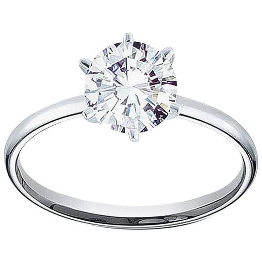 Preload https://img-static.tradesy.com/item/25407888/white-gold-certified-096-carat-round-and-band-14k-engagement-ring-0-0-540-540.jpg