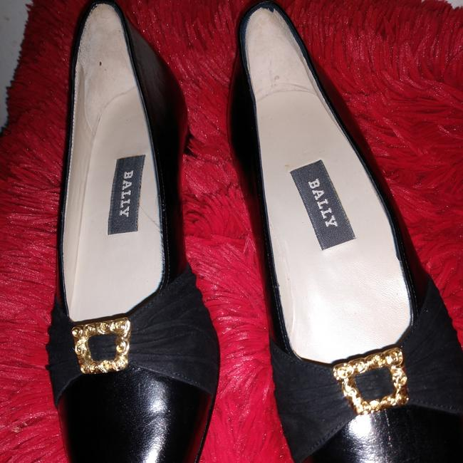 Bally Black Loafers Flats Size US 7 Narrow (Aa, N) Bally Black Loafers Flats Size US 7 Narrow (Aa, N) Image 1