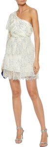 alice McCALL Lace Lovely One Shoulder Mini Dress