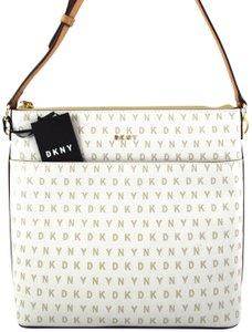 DKNY Off white Hemp/Latte Messenger Bag